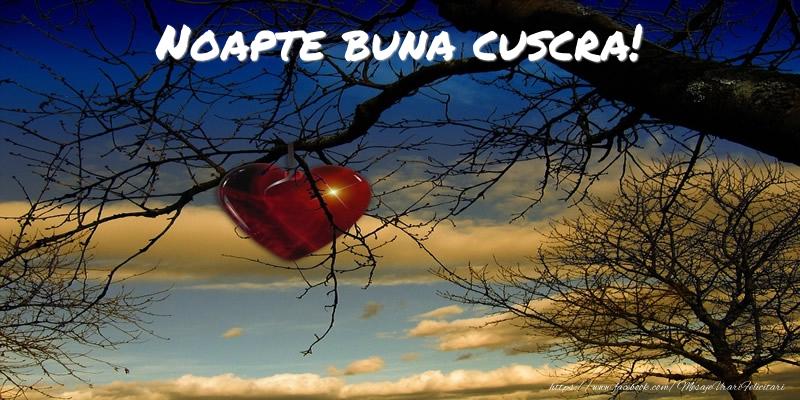 Felicitari frumoase de noapte buna pentru Cuscra | Noapte buna cuscra!