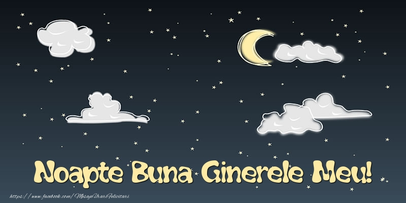 Felicitari frumoase de noapte buna pentru Ginere | Noapte Buna ginerele meu!