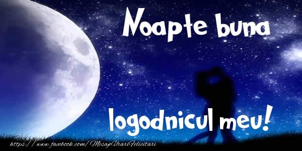 Felicitari frumoase de noapte buna pentru Logodnic   Noapte buna logodnicul meu!