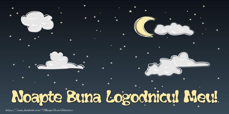 Felicitari frumoase de noapte buna pentru Logodnic | Noapte Buna logodnicul meu!