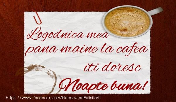 Felicitari frumoase de noapte buna pentru Logodnica | Logodnica mea pana maine la cafea iti doresc Noapte buna!
