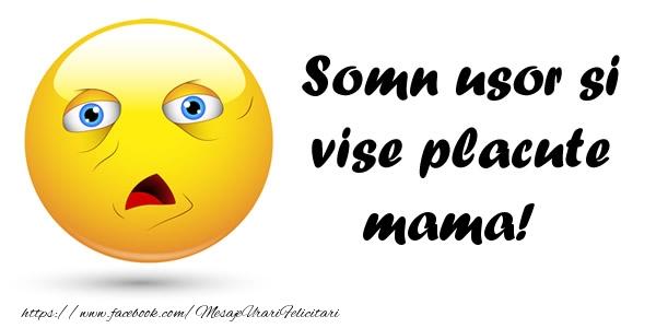 Felicitari frumoase de noapte buna pentru Mama | Somn usor si vise placute mama!