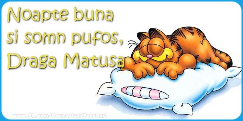Felicitari frumoase de noapte buna pentru Matusa | Noapte buna  si somn pufos,draga matusa