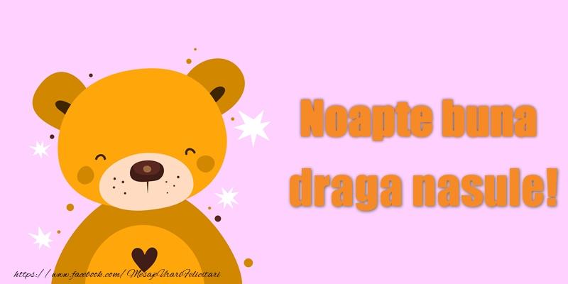 Felicitari frumoase de noapte buna pentru Nas | Noapte buna draga nasule!