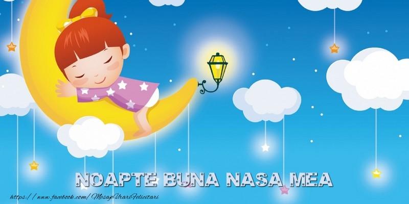 Felicitari frumoase de noapte buna pentru Nasa | Noapte buna nasa mea