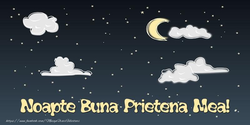 Felicitari frumoase de noapte buna pentru Prietena | Noapte Buna prietena mea!