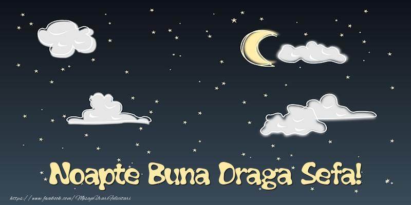 Felicitari frumoase de noapte buna pentru Sefa | Noapte Buna draga sefa!