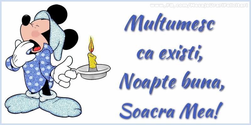 Felicitari frumoase de noapte buna pentru Soacra | Multumesc ca existi, Noapte buna, soacra mea