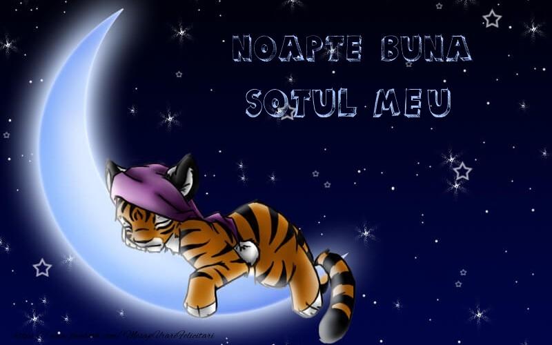 Felicitari frumoase de noapte buna pentru Sot   Noapte buna sotul meu
