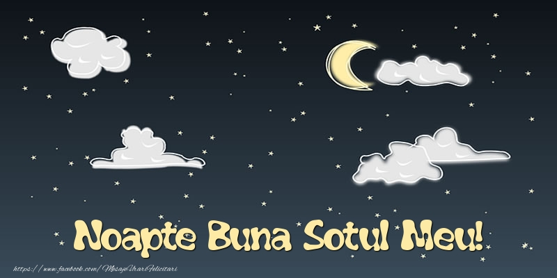 Felicitari frumoase de noapte buna pentru Sot | Noapte Buna sotul meu!