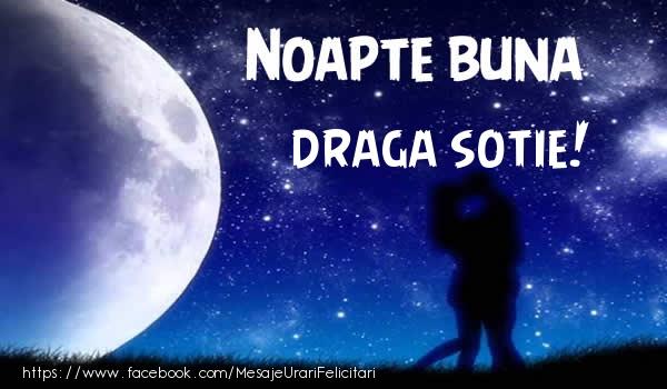 Felicitari frumoase de noapte buna pentru Sotie | Noapte buna draga sotie!
