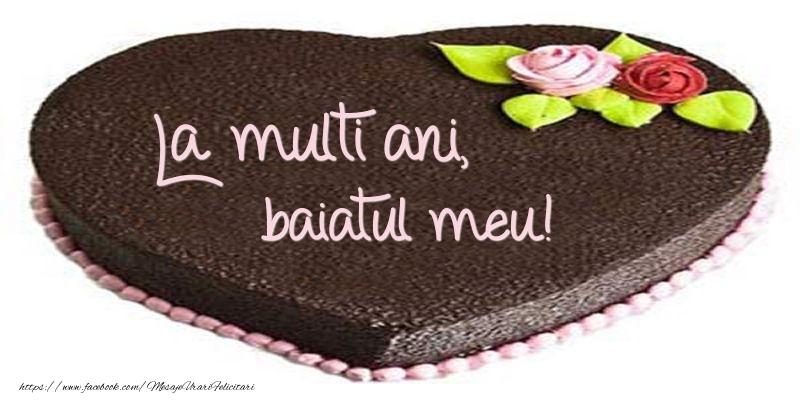 Felicitari frumoase de zi de nastere pentru Baiat | La multi ani, baiatul meu! Tort in forma de inima