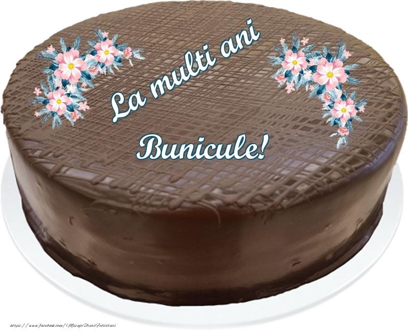Felicitari frumoase de zi de nastere pentru Bunic | La multi ani bunicule! - Tort de ciocolata