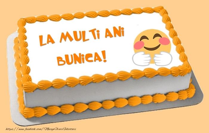 Felicitari frumoase de zi de nastere pentru Bunica   Tort La multi ani bunica!
