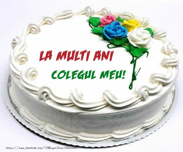 Felicitari frumoase de zi de nastere pentru Coleg   La multi ani colegul meu!