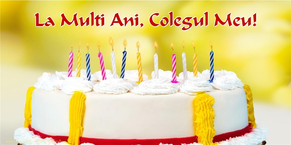 Felicitari frumoase de zi de nastere pentru Coleg | La multi ani, colegul meu!