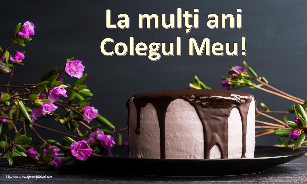 Felicitari frumoase de zi de nastere pentru Coleg   La mulți ani colegul meu!