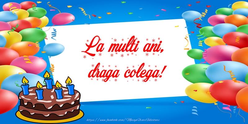 Felicitari frumoase de zi de nastere pentru Colega | La multi ani, draga colega!
