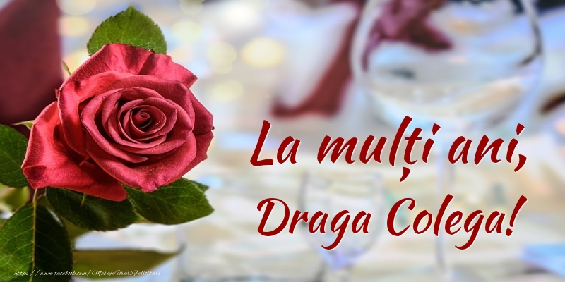 Felicitari frumoase de zi de nastere pentru Colega | La mulți ani, draga colega!