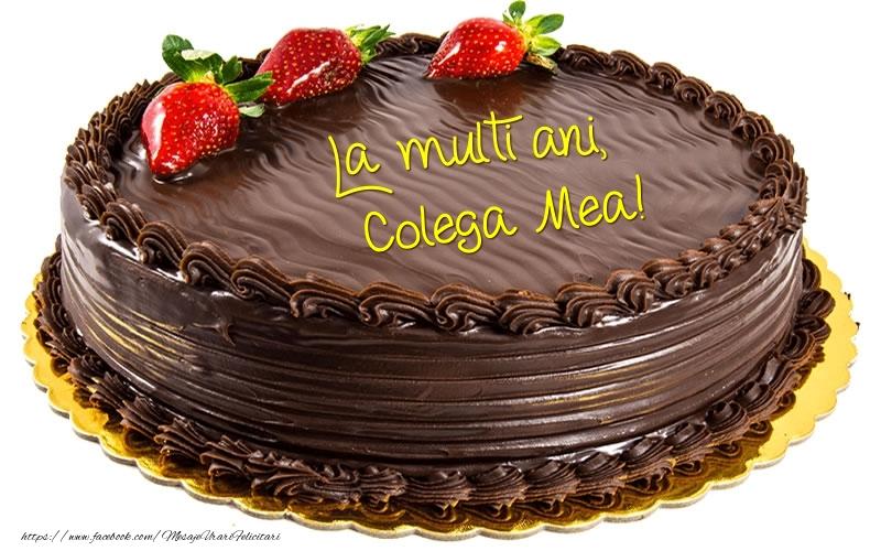 Felicitari frumoase de zi de nastere pentru Colega | La multi ani, colega mea!