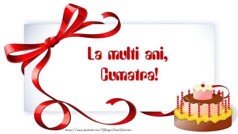 Felicitari frumoase de zi de nastere pentru Cumatra | La multi ani, cumatra!