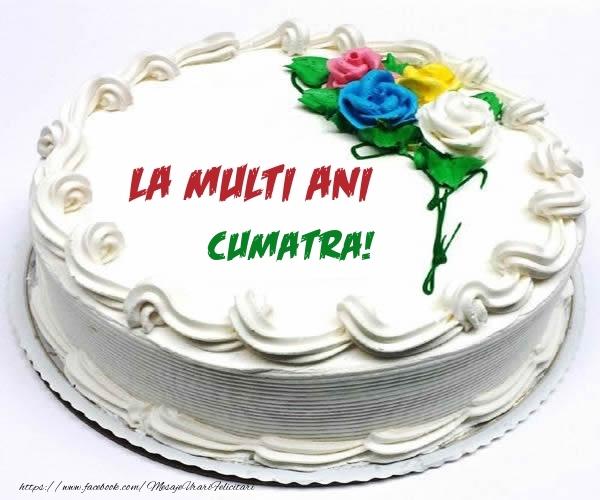 Felicitari frumoase de zi de nastere pentru Cumatra | La multi ani cumatra!