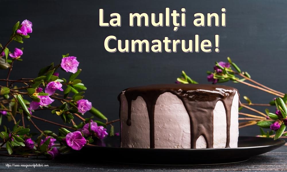 Felicitari frumoase de zi de nastere pentru Cumatru | La mulți ani cumatrule!