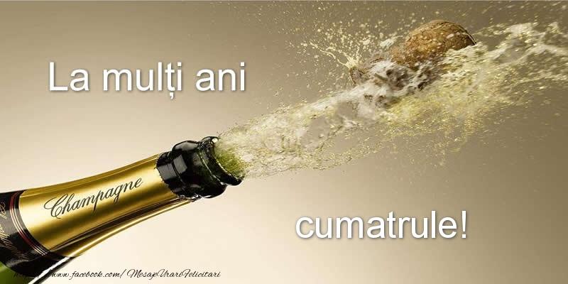 Felicitari frumoase de zi de nastere pentru Cumatru | La multi ani cumatrule!