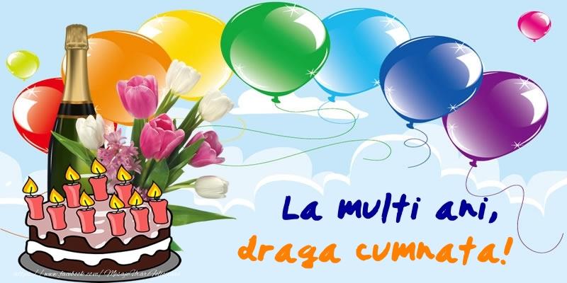 Felicitari frumoase de zi de nastere pentru Cumnata | La multi ani, draga cumnata!