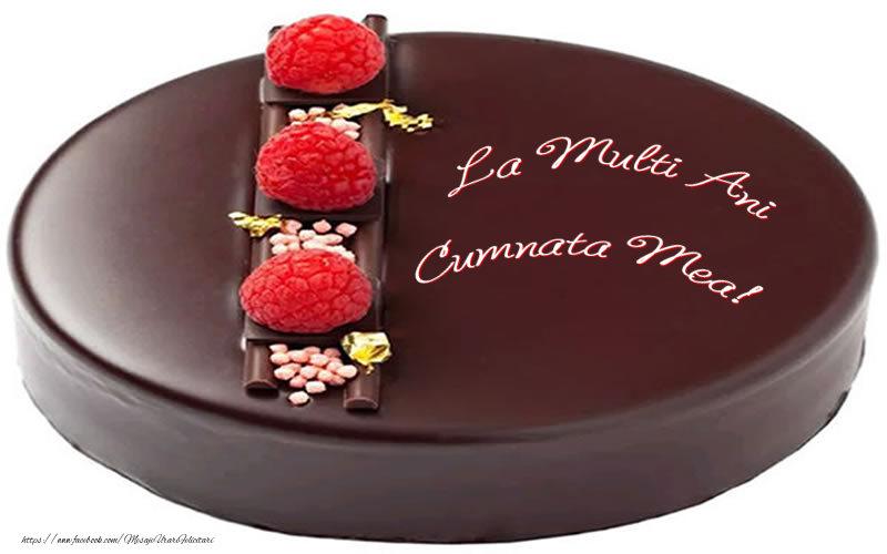 Felicitari frumoase de zi de nastere pentru Cumnata   La multi ani cumnata mea!