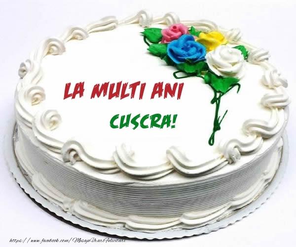 Felicitari frumoase de zi de nastere pentru Cuscra   La multi ani cuscra!