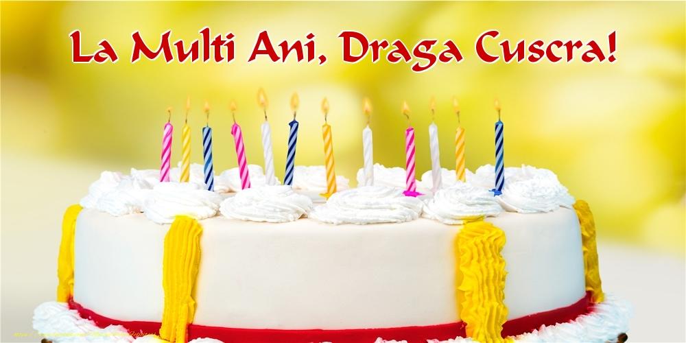 Felicitari frumoase de zi de nastere pentru Cuscra | La multi ani, draga cuscra!
