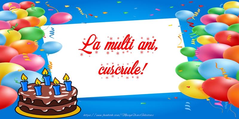 Felicitari frumoase de zi de nastere pentru Cuscru | La multi ani, cuscrule!