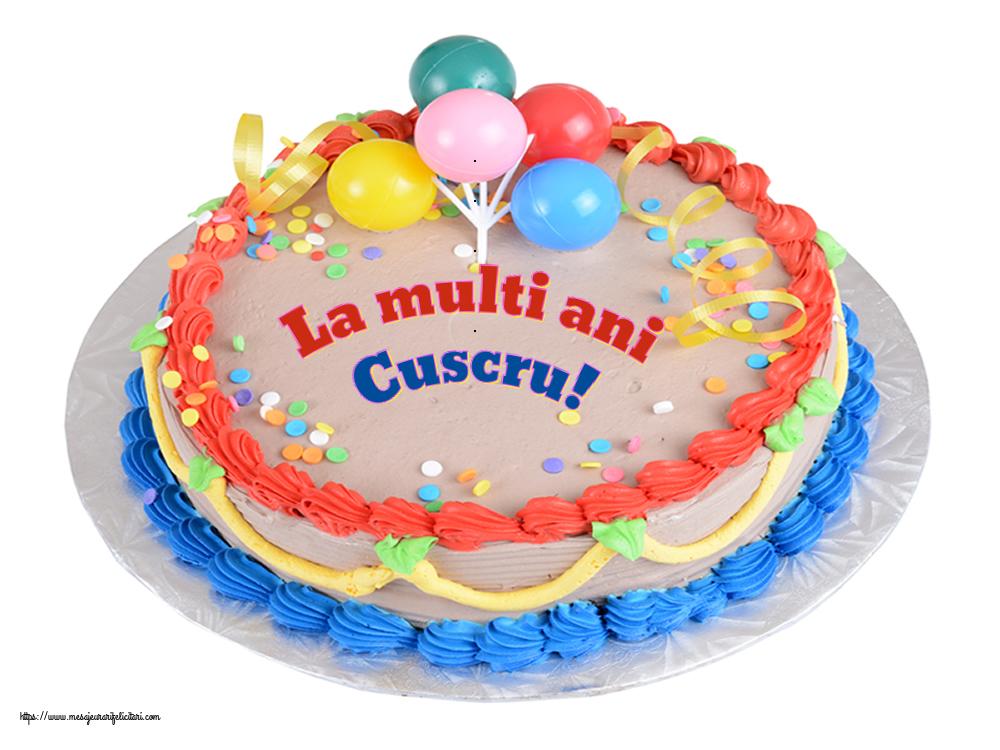 Felicitari frumoase de zi de nastere pentru Cuscru   La multi ani cuscru!