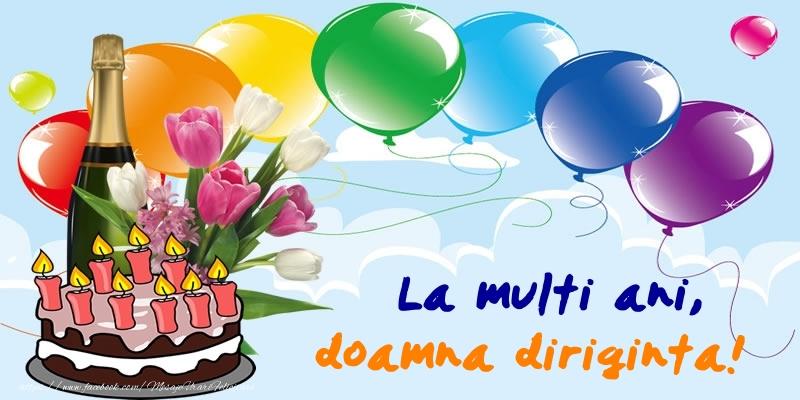 Felicitari frumoase de zi de nastere pentru Diriginta | La multi ani, doamna diriginta!