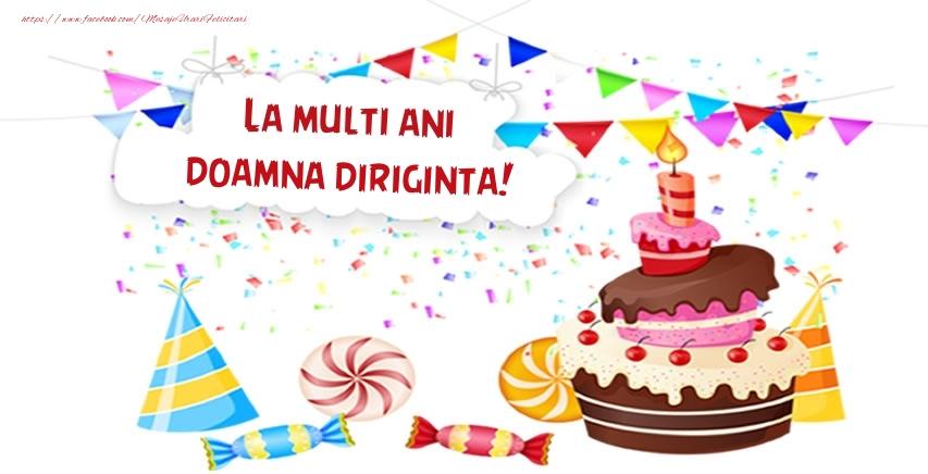 Felicitari frumoase de zi de nastere pentru Diriginta | La multi ani doamna diriginta!