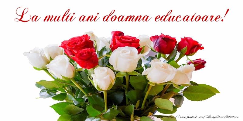 Felicitari frumoase de zi de nastere pentru Educatoare | La multi ani doamna educatoare!