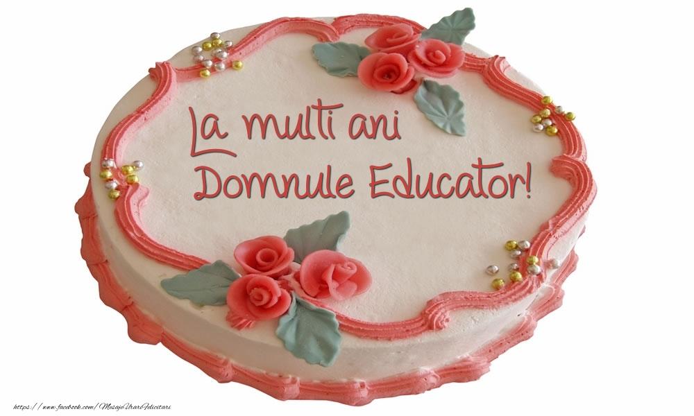 Felicitari frumoase de zi de nastere pentru Educator | La multi ani domnule educator!