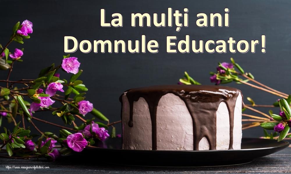 Felicitari frumoase de zi de nastere pentru Educator | La mulți ani domnule educator!