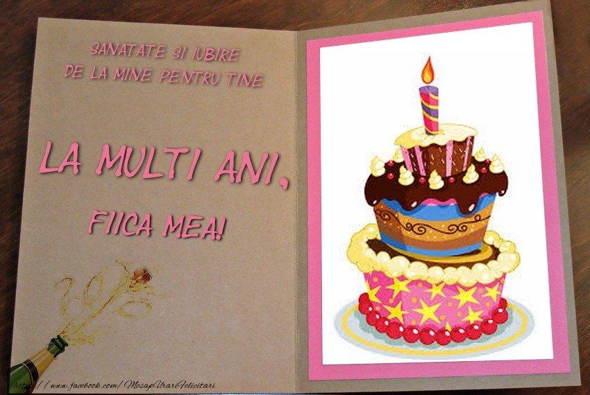 Felicitari frumoase de zi de nastere pentru Fata | La multi ani, fiica mea!