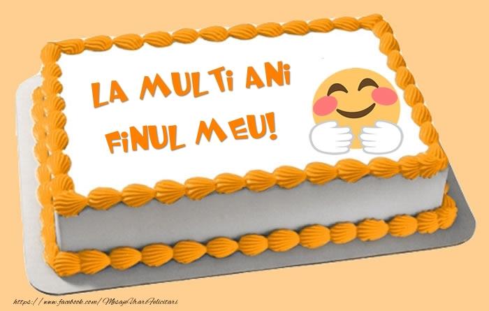 Felicitari frumoase de zi de nastere pentru Fin | Tort La multi ani finul meu!