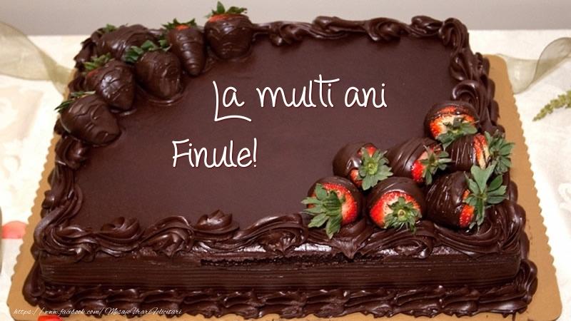 Felicitari frumoase de zi de nastere pentru Fin | La multi ani, finule! - Tort