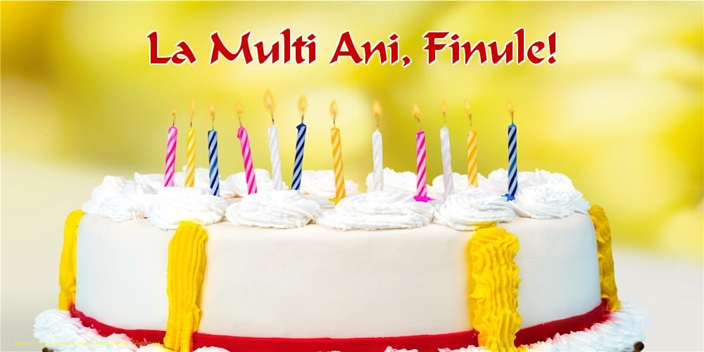 Felicitari frumoase de zi de nastere pentru Fin | La multi ani, finule!