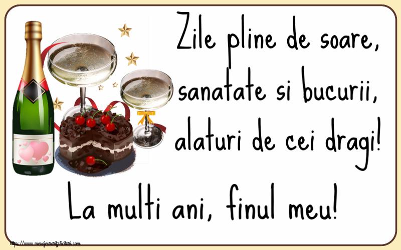 Felicitari frumoase de zi de nastere pentru Fin | Zile pline de soare, sanatate si bucurii, alaturi de cei dragi! La multi ani, finul meu!