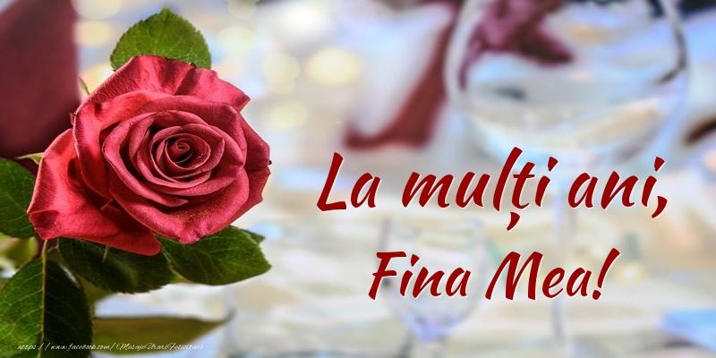 Felicitari frumoase de zi de nastere pentru Fina | La mulți ani, fina mea!