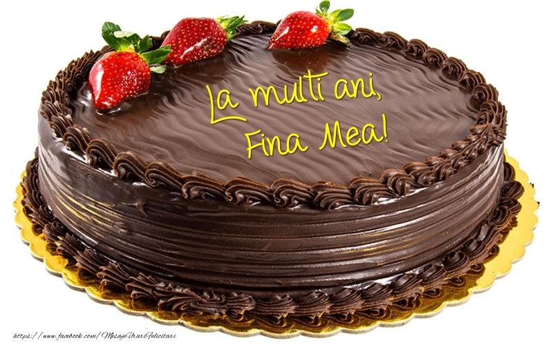 Felicitari frumoase de zi de nastere pentru Fina | La multi ani, fina mea!