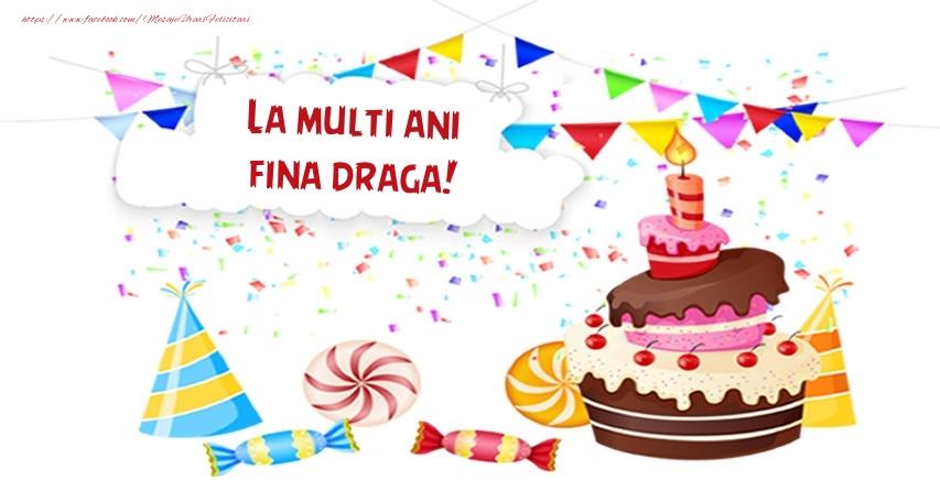 Felicitari frumoase de zi de nastere pentru Fina | La multi ani fina draga!