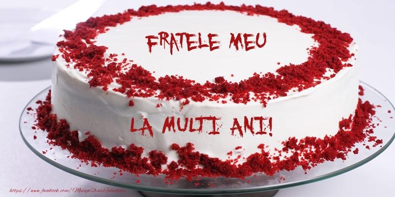 Felicitari frumoase de zi de nastere pentru Frate   La multi ani, fratele meu!