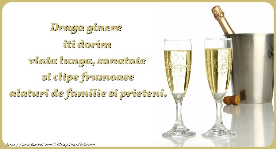 Felicitari frumoase de zi de nastere pentru Ginere | Draga ginere iti dorim viata lunga, sanatate si clipe frumoase alaturi de familie si prieteni. Cu drag