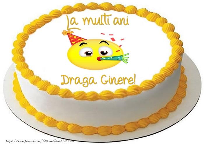 Felicitari frumoase de zi de nastere pentru Ginere | Tort La multi ani draga ginere!